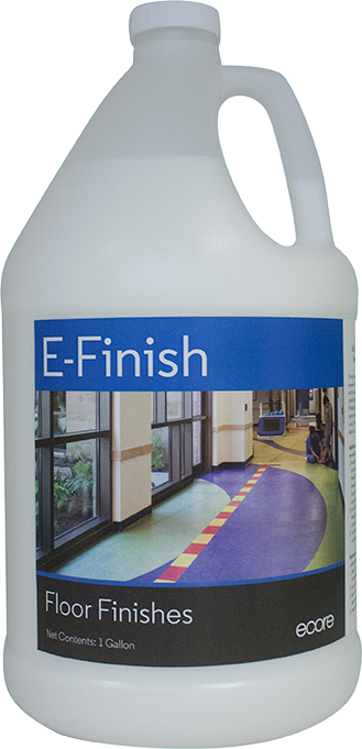 E-Finish is a floor finish offered by Ecore.